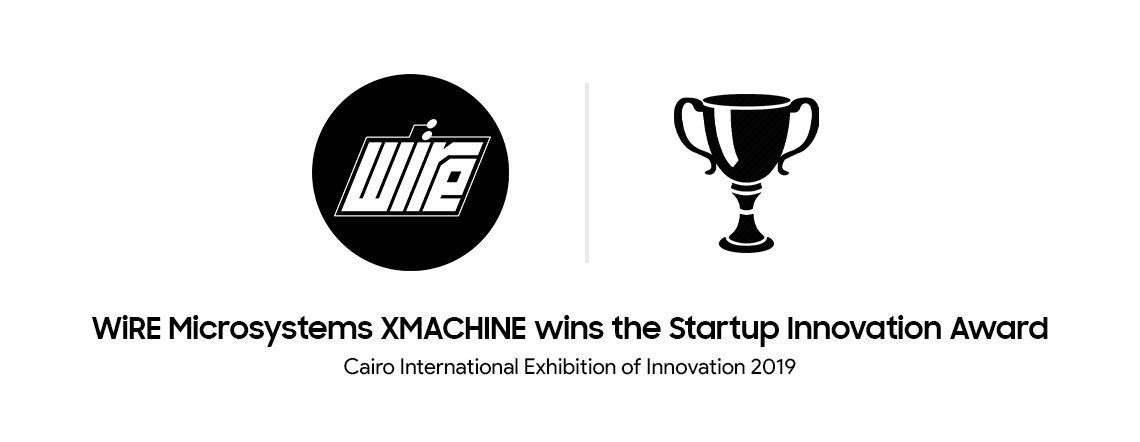 WiRE Microsystems wins the Cairo International Exhibition of Innovation Award