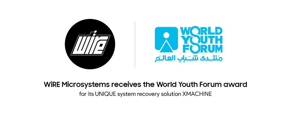 WiRE Microsystems Receives the World Youth Forum Award from H.E. Mr. President Abdelfatah El-Sisi