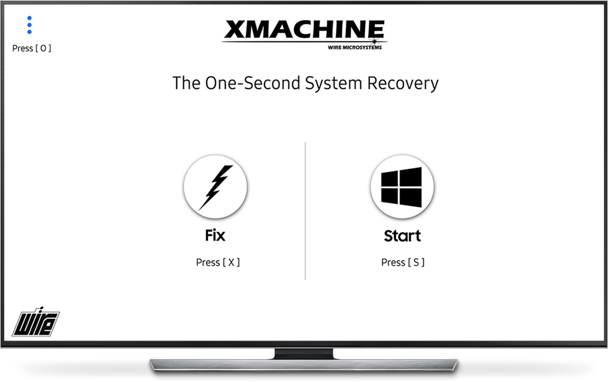 WiRE Microsystems XMACHINE, The WORLD's FASTEST system recovery solution. The world's first one second disaster recovery