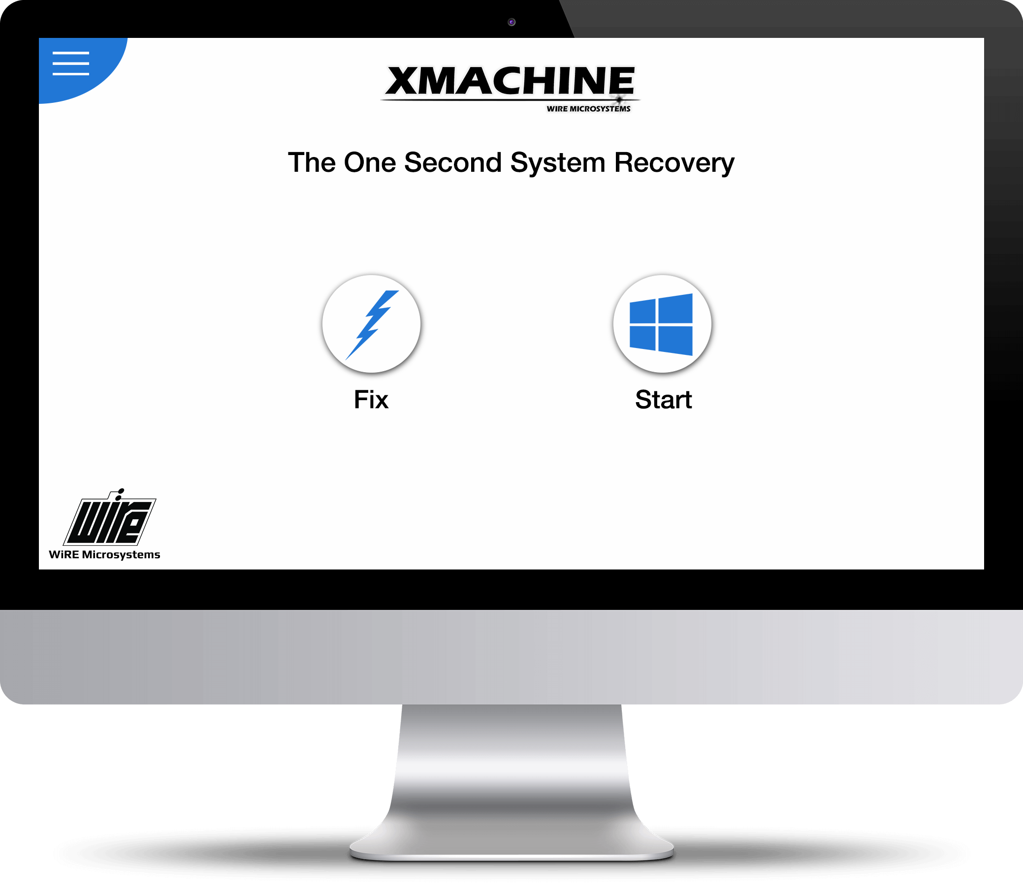 WiRE XMACHINE, The World's Fastest system recovery solution. The world's first single second disaster recovery